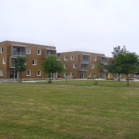 logements ossature bois caen